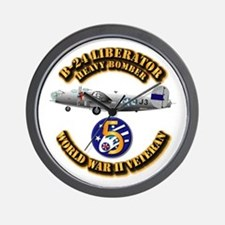 AAC - 22nd BG - 2nd BS - 5th AF Wall Clock