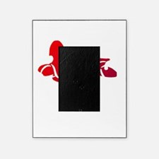 3-red-white Picture Frame