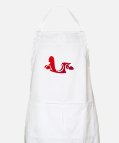 3-red-white Apron