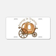 Princess In Training Aluminum License Plate