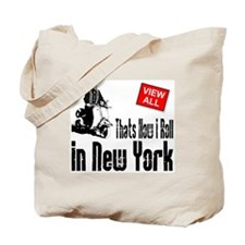 how-I-roll-city Tote Bag