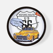 vintage-auto Wall Clock