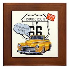 vintage-auto Framed Tile