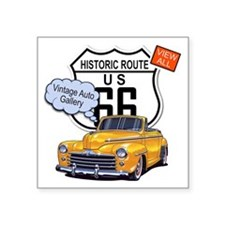"vintage-auto Square Sticker 3"" x 3"""