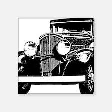 "ford-A Square Sticker 3"" x 3"""