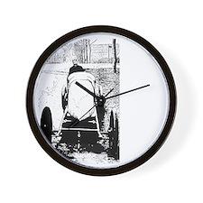 Henry Fournier-white Wall Clock