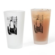 Henry Fournier-white Drinking Glass