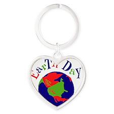 earthday-2 Heart Keychain
