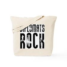 Diplomats Rock Tote Bag