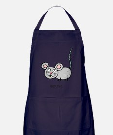 mouse Apron (dark)
