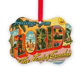 Florida Picture Frame Ornaments