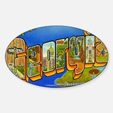 georgia Sticker (Oval)