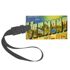 vermont Luggage Tag