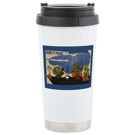 grow-it-stick Stainless Steel Travel Mug
