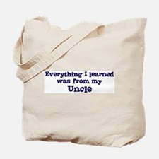 Uncle : Everything Tote Bag