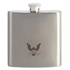 navy-emblem1-white Flask
