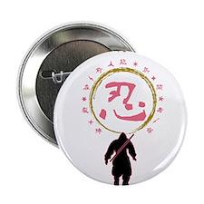 """SHINOBI (ninja) 2.25"""" Button"""