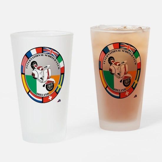 ireland-WHT-scoot Drinking Glass