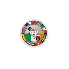 ireland-WHT-scoot Mini Button