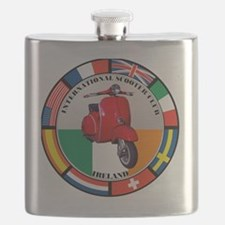 ireland-RED-scoot Flask