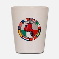 italy-RED-scoot Shot Glass