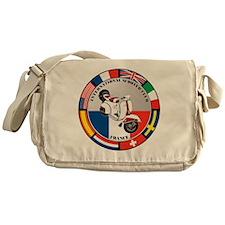 france-WHT-scoot Messenger Bag