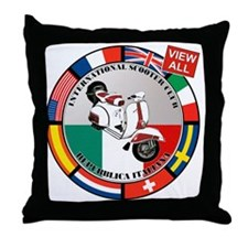 2-vespa-country-section Throw Pillow