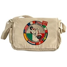 2-vespa-country-section Messenger Bag