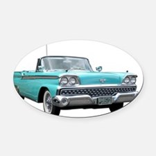 59-Ford-Fairlane2800 Oval Car Magnet