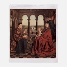 Jan_van_Eyck_070 Throw Blanket