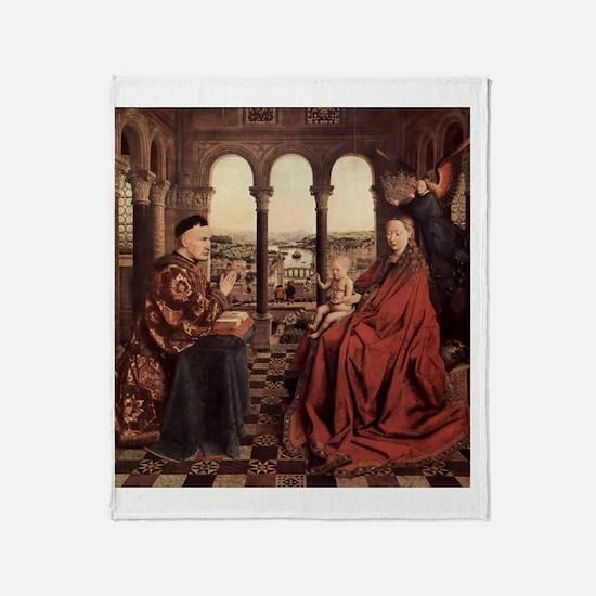 Jan_van_Eyck_070 Throw Blanket