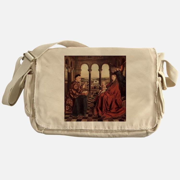 Jan_van_Eyck_070 Messenger Bag