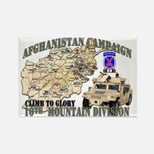 afganistan-10th-mountain-div Rectangle Magnet