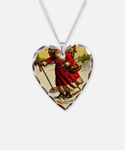 xmas-12384 Necklace Heart Charm
