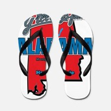 alabama Flip Flops