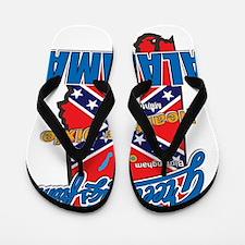 alabama-dixie Flip Flops
