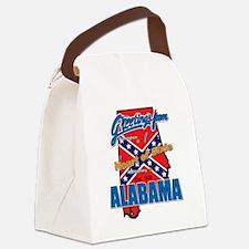 alabama-dixie Canvas Lunch Bag