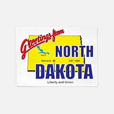 north-dakota 5'x7'Area Rug