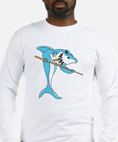 pool shark Long Sleeve T-Shirt