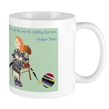 Sarah (knitting) Mug