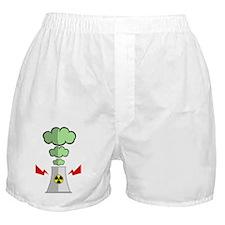 nuke-plant Boxer Shorts