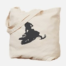 snow-mobile-2 Tote Bag