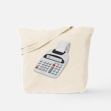 adding machine calculator Tote Bag