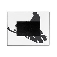 snow-mobile Picture Frame