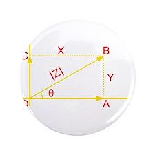 """algebra humor 3.5"""" Button"""