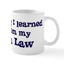 Son In Law : Everything Mug