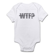 WTF? Infant Bodysuit