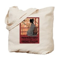 Madame Butterfly Puccini Tote Bag