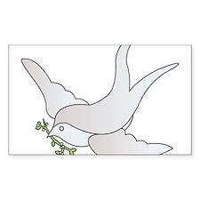 Peace Dove Decal