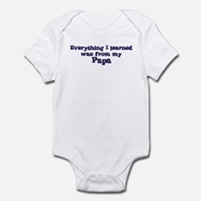 Papa : Everything Infant Bodysuit